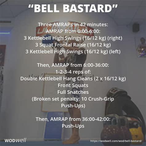 wod wods kettlebell crossfit bell wodwell kettle workouts workout routines amrap gym