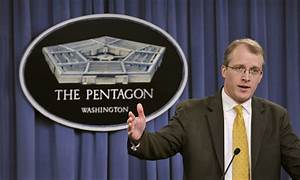 File:Pentagon Press Secretary George E. Little briefs the ...