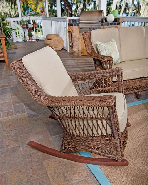 wicker rocking chair wicker rocker wicker rocker chair