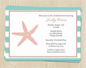 nautical bridal shower invitations wedding stripes With nautical wedding shower invitations