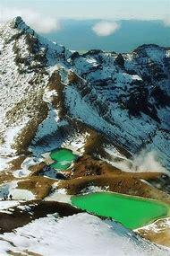 New Zealand Emerald Lakes Tongariro Nationa…