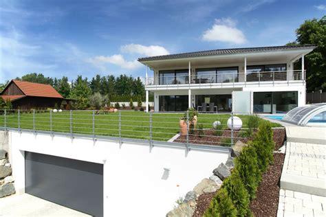 Moderne Häuser Mit Tiefgarage by Tiefgarage Unter Dem Garten Im Bau Fritz Haus Villa