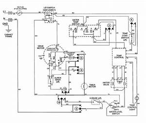Ge Washing Machine Motor Wiring Diagram  Ge  Wiring