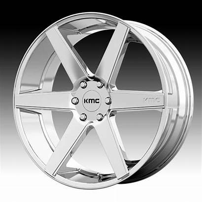 Kmc Wheels Chrome Rims Truck Custom Pvd