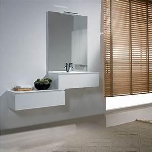 meuble salle de bain faible profondeur With meuble salle de bain personnalisé