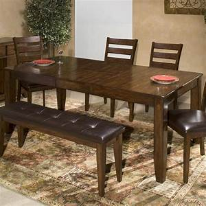 Intercon, Kona, Solid, Mango, Wood, Dining, Table, With, Butterfly, Leaf
