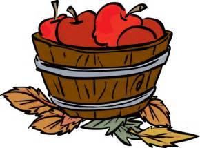 Fall Apple Basket Clip Art