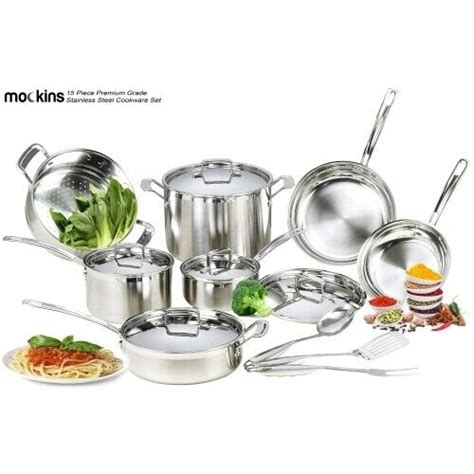 cookware emeril piece lagasse stainless steel