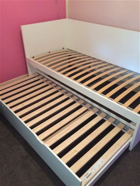 Bed With Pull Out Bed Underneath by Ikea Bed With Underneath Pull Out Bed For Sale In