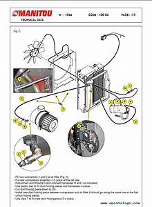 Manitou Mlt 732 Turbo B E2 Set Of Pdf Repair Manuals Download