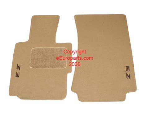floor mats z3 82111470157 genuine bmw floor mat set beige free shipping available
