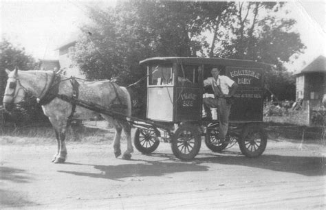 My Grandfather Was A Horse-driving Milkman As A Young Man
