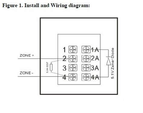 2 wire conventional manual call point for alarm