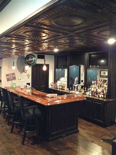 Basement Pub! Dig the ceilings!   Fix/rehab/Ideas for next
