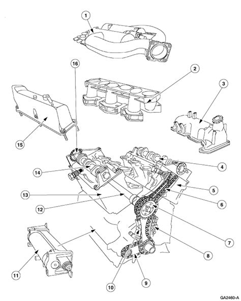2001 Ford 4 0l Engine Diagram by I Want To Replace The Valve Cover Gaskets On My 1999 Ford
