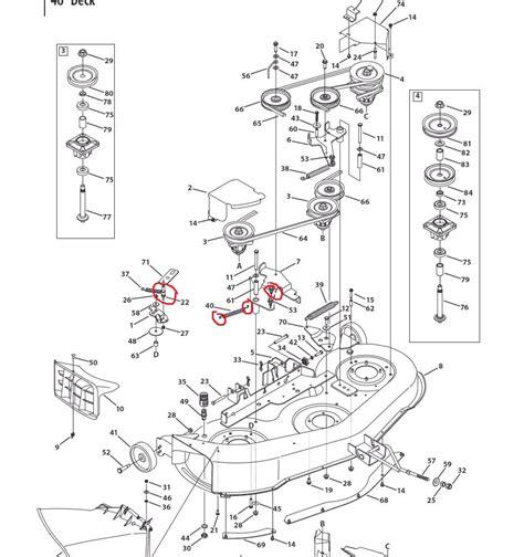 Mtd 46 Inch Deck Belt Diagram by The Uppeer Drive Belt Mowing Deck On My Mtd 46