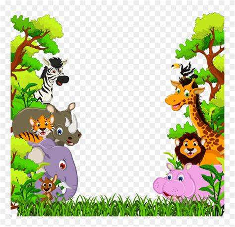 Download Фотки Cartoon Jungle Animals Baby Cartoon