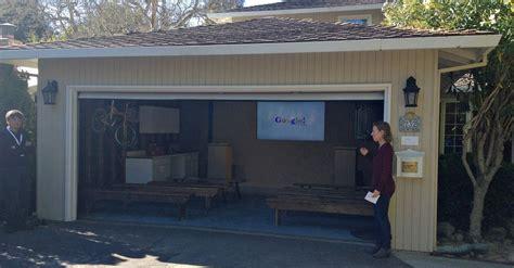 In the Garage Where Google Was Born