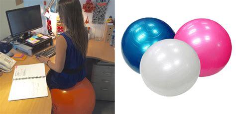 exit votre chaise de travail adoptez un ballon