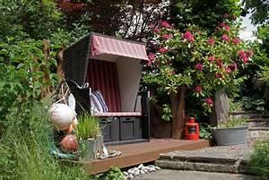strandkorb rattan gartenmobel With französischer balkon mit garten strandkorb