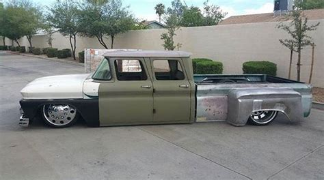 awesome crew cab dually build vintage pickup trucks