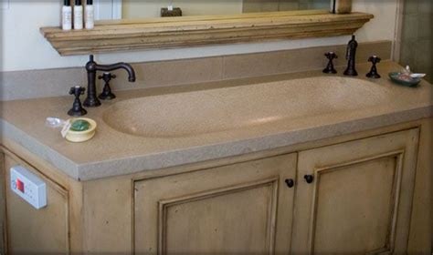 double trough sink bathroom vanity bathroom vanity concrete trough sink sonoma cast stone