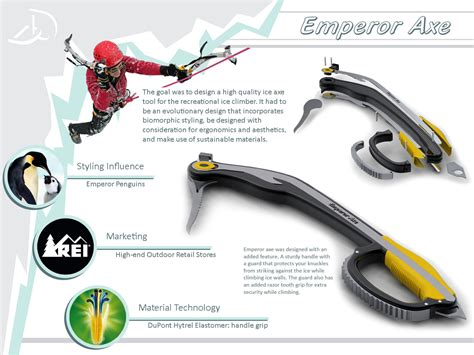 Industrial Stand by Recreational Product Ice Axe By Douglas Dell At Coroflot Com