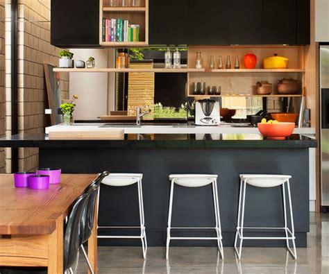 cuisine americaine avec bar déco cuisine ouverte deco maison moderne