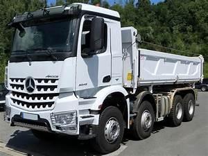 Mercedes Poids Lourds : camion poids lourd benne basculante de chantier et de tp ~ Melissatoandfro.com Idées de Décoration