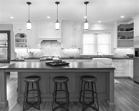 30 Monochrome Kitchen Design Ideas