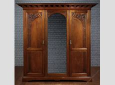 Arts & Crafts Triple Wardrobe C1900 Antiques Atlas