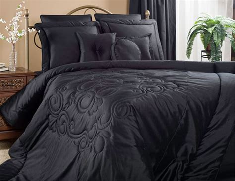 Black Coverlet by Medallion Black By Victor Mill Beddingsuperstore