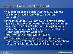 Management Of The Patient With Stable Ischemic Heart