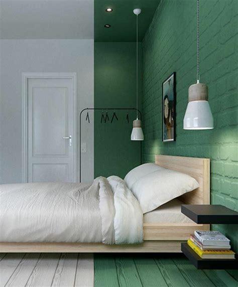 couleur tendance chambre a coucher nos astuces en photos pour peindre une pièce en deux