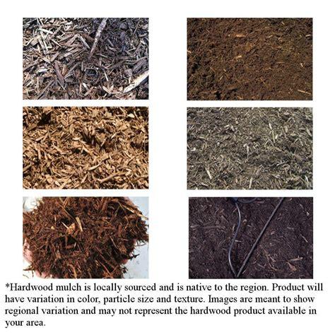 cu yd hardwood bulk mulch bkhm  home depot