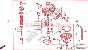 Carburetor For Honda Xlr 125 1998   Honda Motorcycles