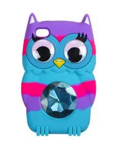 Owl iPod Cases From Justice