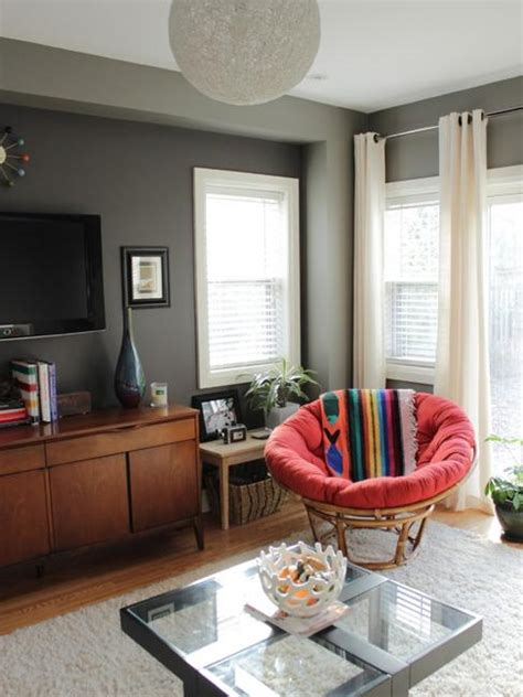 cozy ideas  modern home decorating  papasan chairs
