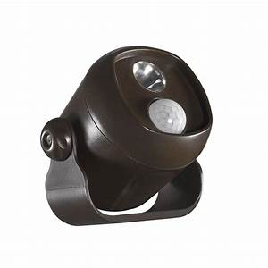 Led Mini Spot : acclaim lighting battery operated bronze led single mini spotlight b200bz the home depot ~ Watch28wear.com Haus und Dekorationen