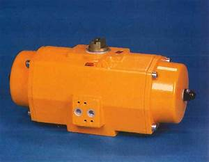 E  U0026 P Series Pneumatic Rack And Pinion Rotary Actuators On