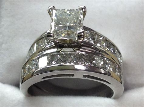 engagement ring used as wedding ring cameos and estate jewelry vienna va