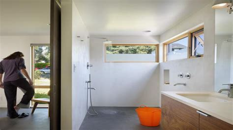 small bathroom doorless shower design ideas open showers  small bathrooms waterfront house