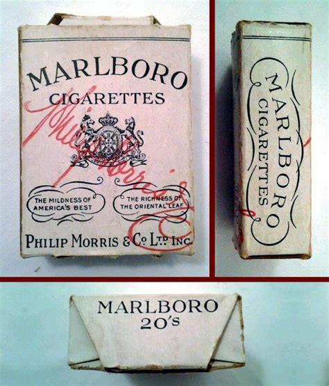 First Versions: Marlboro