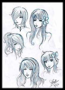 Girl Hairstyles by alwizhyper on DeviantArt