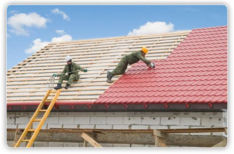 the three steps which involve roof painting in roof