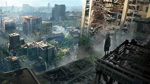 9S Nier Automata Ruined City Wallpaper #32864