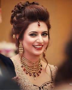 78 Ideas About Indian Bridal Hairstyles On Pinterest