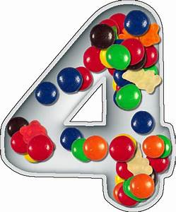 presentation alphabets candy dish numeral 4 With alphabet letter candy dishes