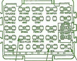 1993 Gmc Sierra 1500 Sle Fuse Box Diagram  U2013 Schematic Diagrams