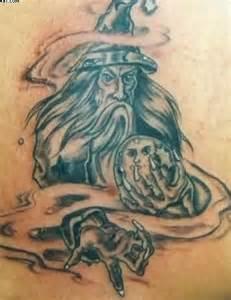Merlin Wizard Tattoo Designs